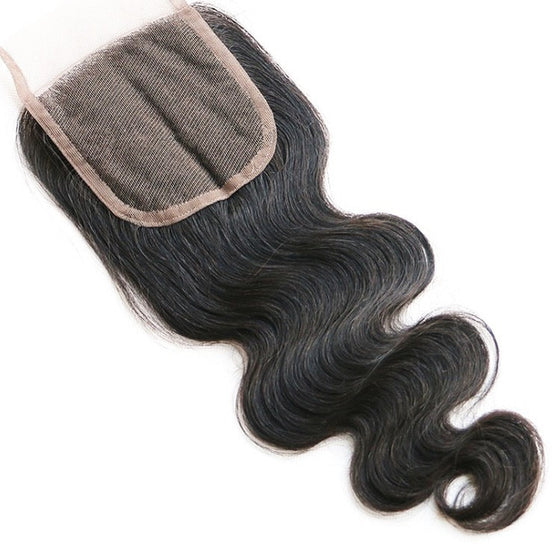 BRAZILIAN HAIR BODY WAVE [7A] (LACE CLOSURE)