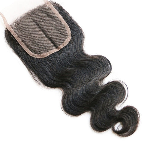 BRAZILIAN HAIR BODY WAVE [1 PIECE LACE CLOSURE]