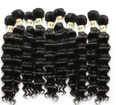 MALAYSIAN HAIR LOOSE WAVE [7A] (WHOLESALE 10 BUNDLES)