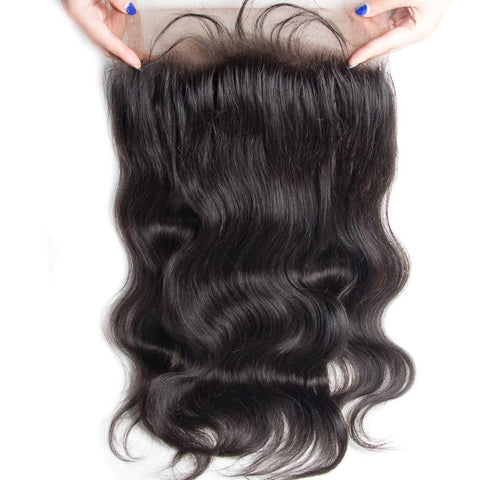 PERUVIAN HAIR BODY WAVE [360 LACE FULL FRONTAL]