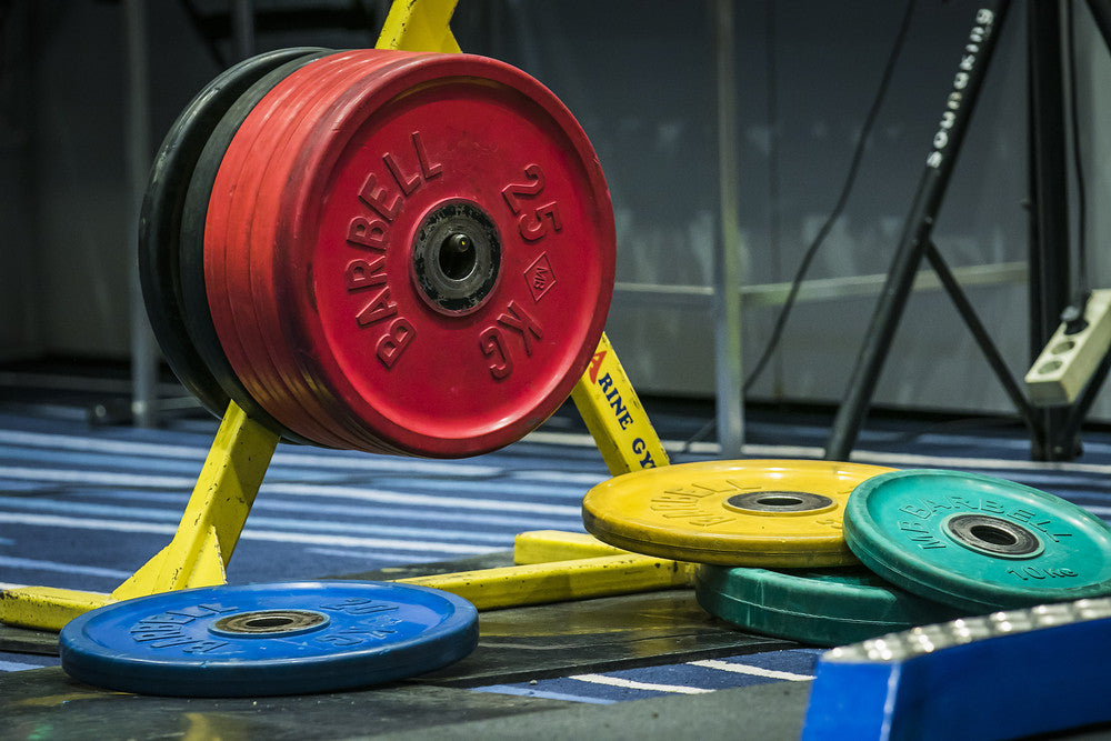 Bumper Plates - Pieces For Building a Home CrossFit Gym
