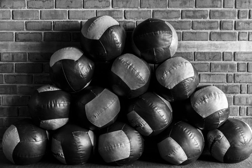 Wall Balls - Pieces For Building a Home CrossFit Gym