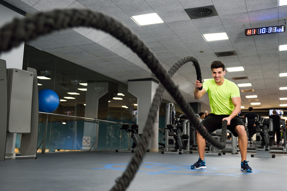 Climbing or Battling Rope - Pieces For Building a Home CrossFit Gym