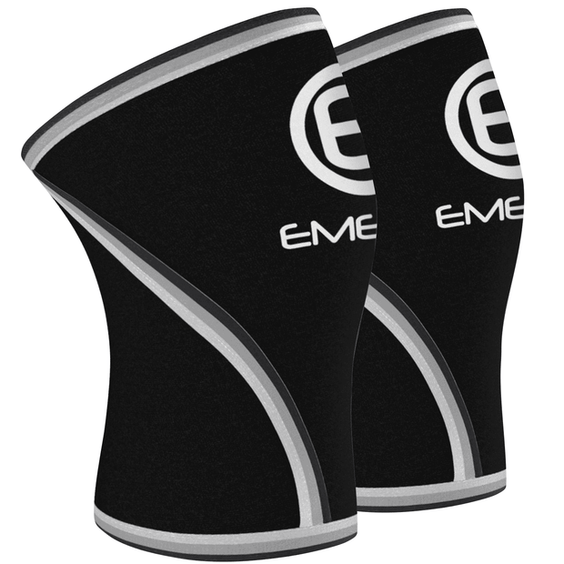 7Mm Knee Sleeve Compression Supports Fitness - Emergefitnessusa