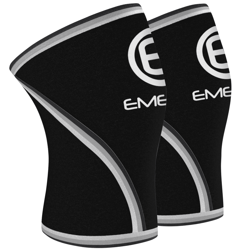 7Mm Knee Sleeve Compression Supports Large Fitness - Emergefitnessusa