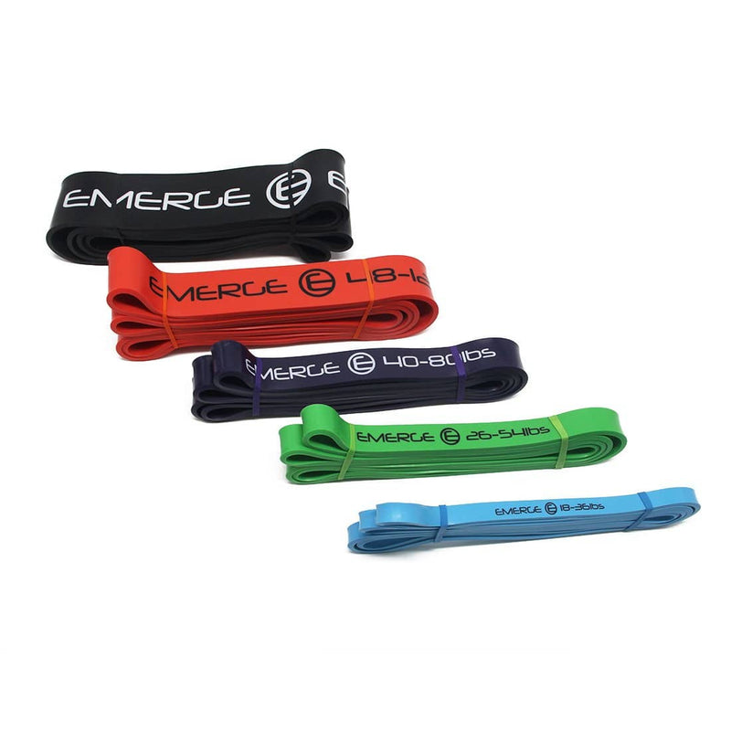 Pull Up Resistance Bands Set - Emergefitnessusa