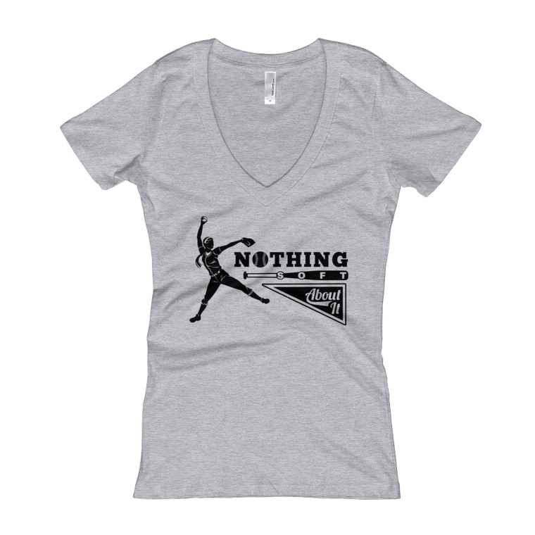 Nothing Soft About It Women's V-Neck T-shirt