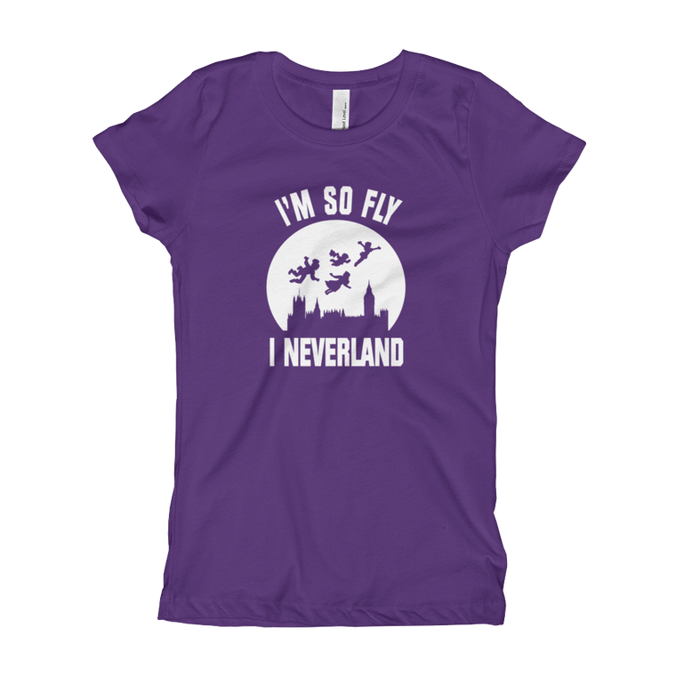 So Fly I Neverland Girl's T-Shirt