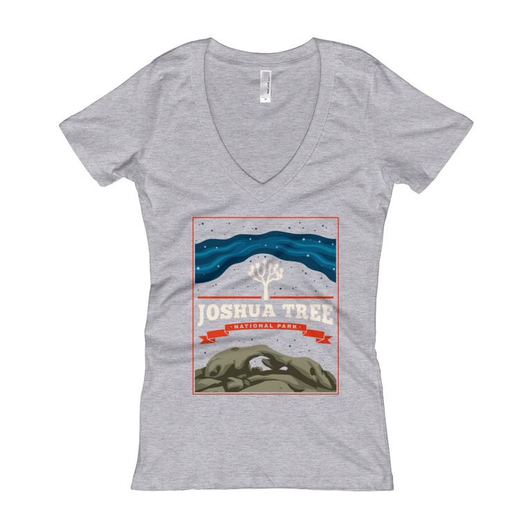 Joshua Tree National Park Women's V-Neck T-shirt