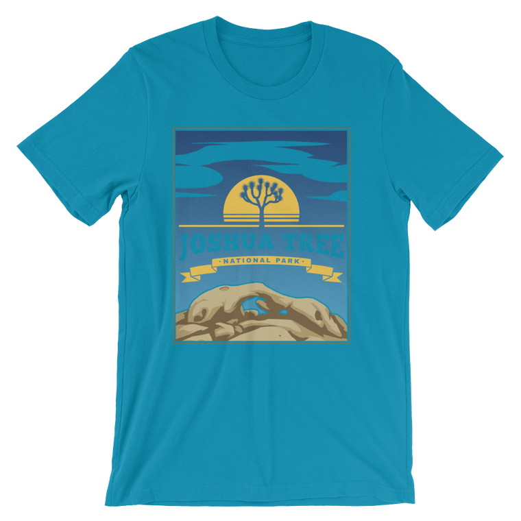 Joshua Tree National Park short sleeve t-shirt