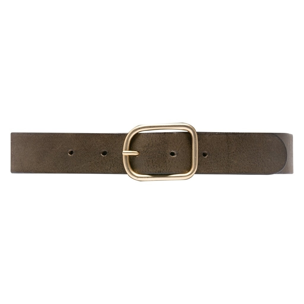 DEPECHE Basis jeans bælte Belts 049 Army Green