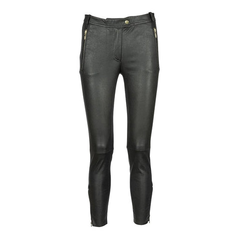 Depeche leather wear 7/8 Pants w/zipper pocket and zipper at bottom Pants 097 Gold (Platino)
