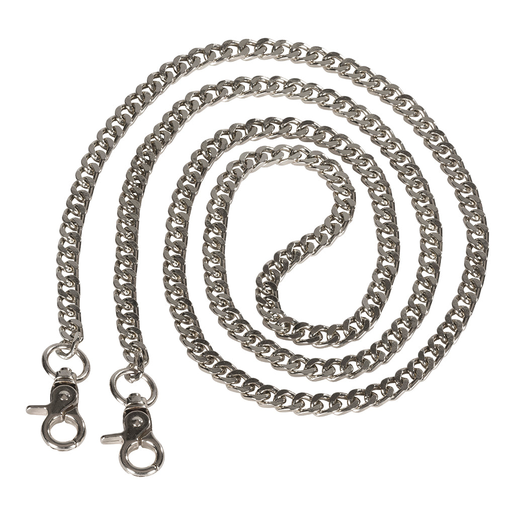 DEPECHE Metal chain for bags Accessories 098 Silver (Argento)