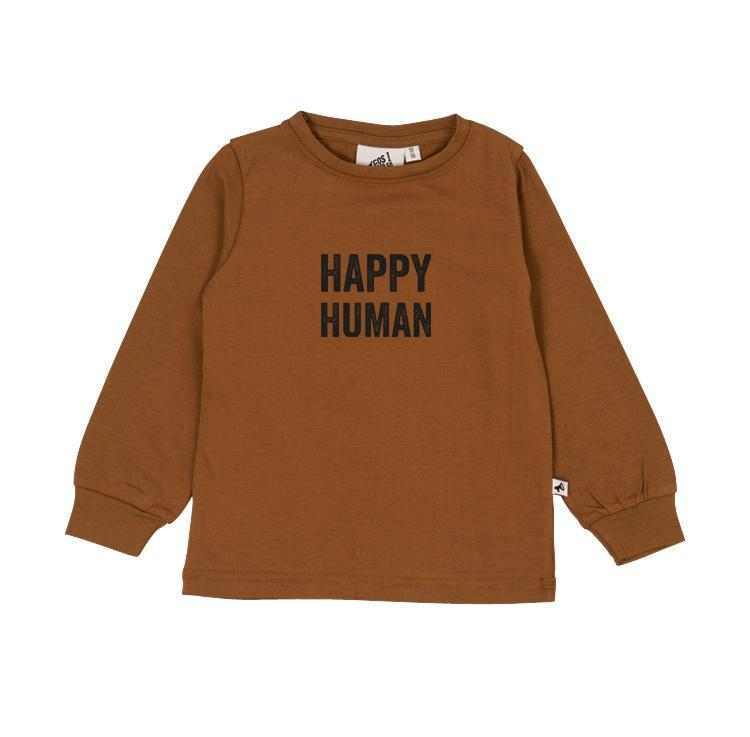 Cos I Said So HAPPY HUMAN Sweater - RUBBER Overdeler Cos I Said So