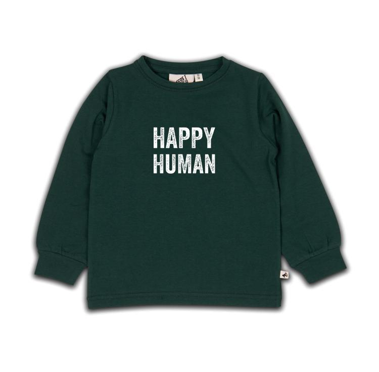 Cos I Said So HAPPY HUMAN Sweater - SEA MOSS Underdeler Cos I Said So