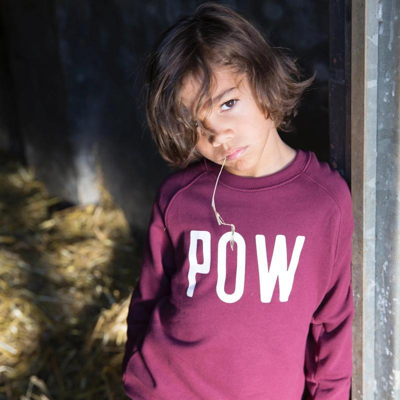 Cos I Said So POW WOW Sweatshirt - ZINFANDEL Overdeler Cos I Said So