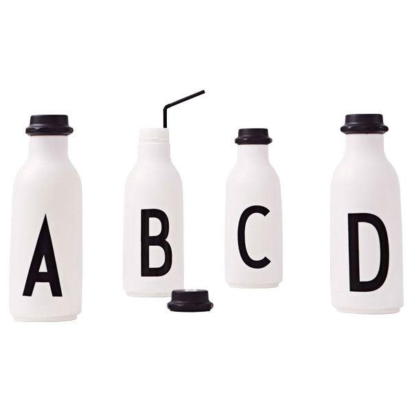 Design Letters - Water Bottle A - Z Vannflaske Design Letters
