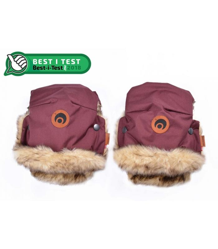 EASYGROW HAND MUFFS Basic - Wine Red Muffer Easygrow