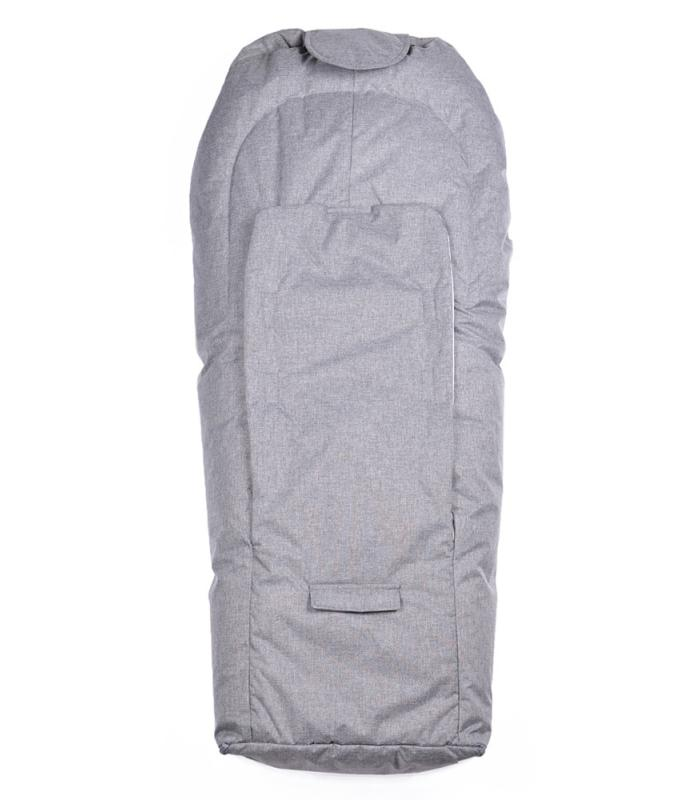 EASYGROW MINI Car Seat Bag - Grey Melange - Torgunns Barneklær