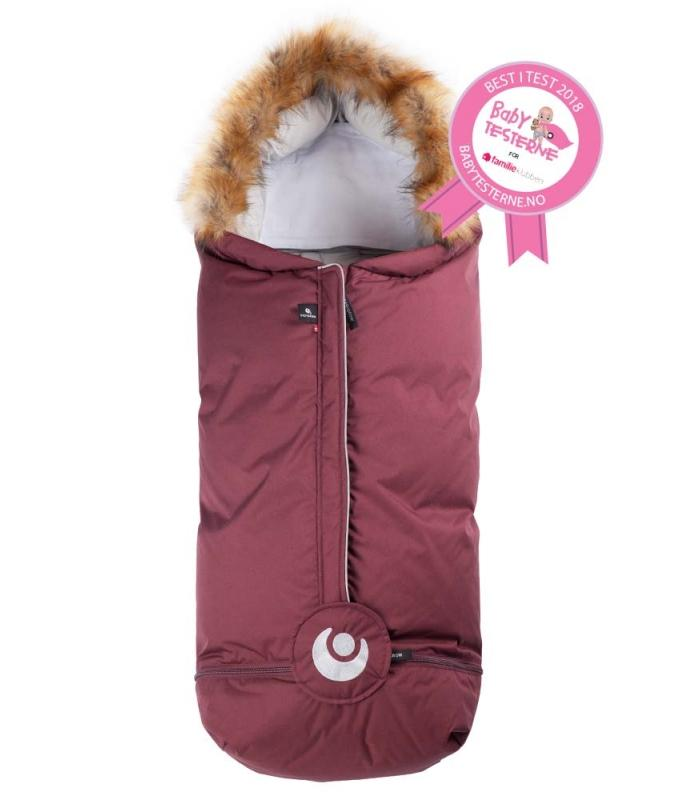 EASYGROW NORD Foot Muff - Wine Red Vognpose Easygrow