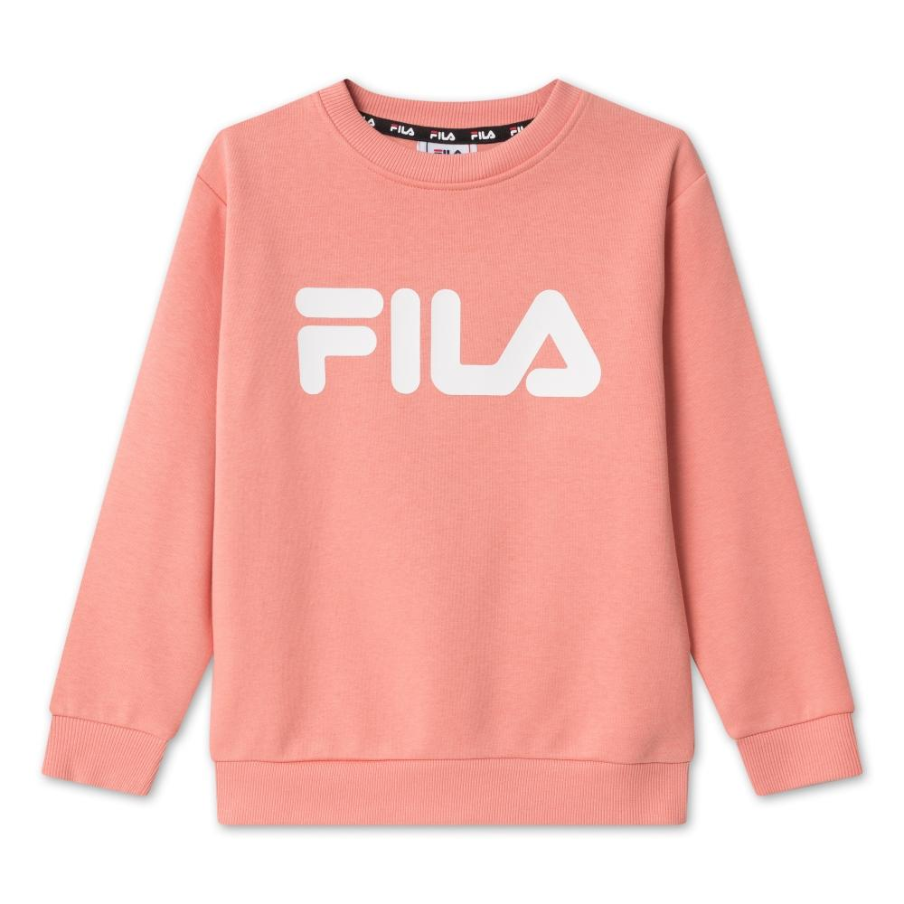 FILA KIDS CLASSIC logo crew sweat - lobster bisque Overdeler FILA