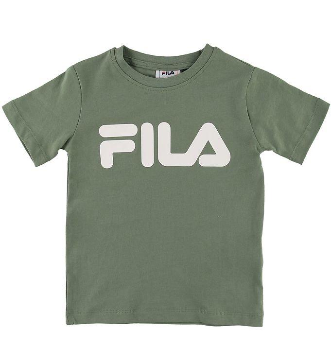 FILA KIDS CLASSIC Logo Tee - Sea Spray Overdeler FILA