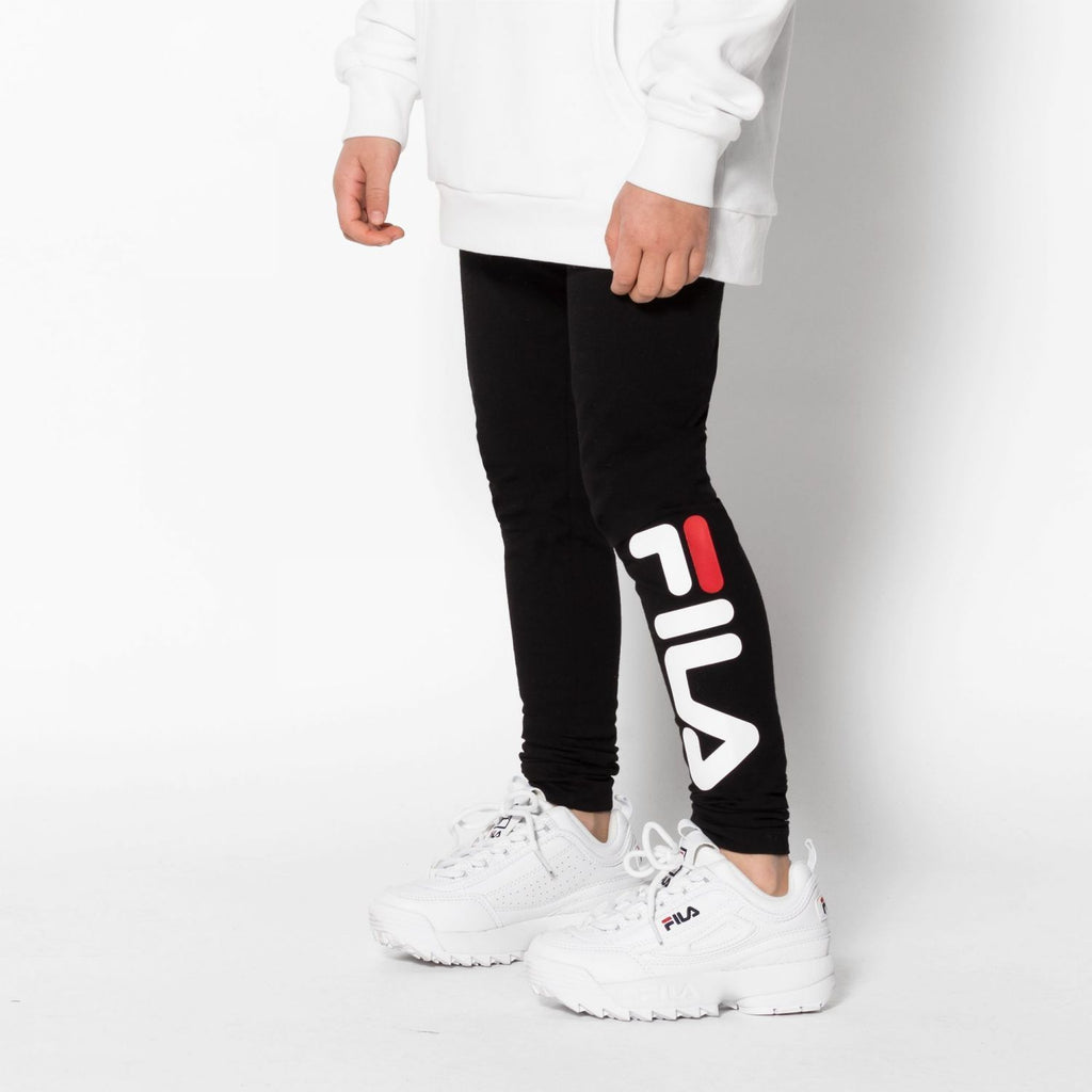 FILA KIDS FLEX Leggings - Black Underdeler FILA