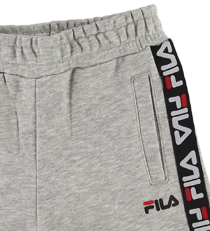 FILA KIDS TAPPEN Shorts - Light Grey Melange Bros Underdeler FILA