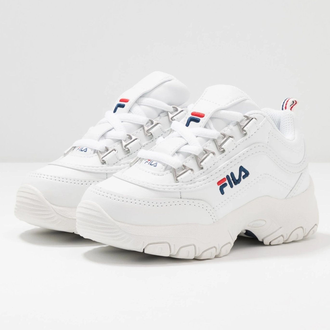 FILA Strada Low Sko White