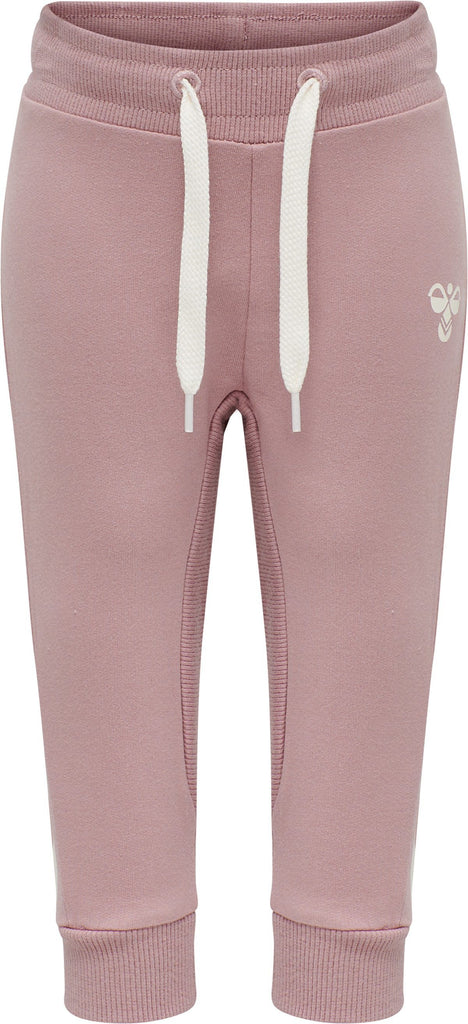 hummel APPLE PANTS - WOODROSE - Torgunns Barneklær