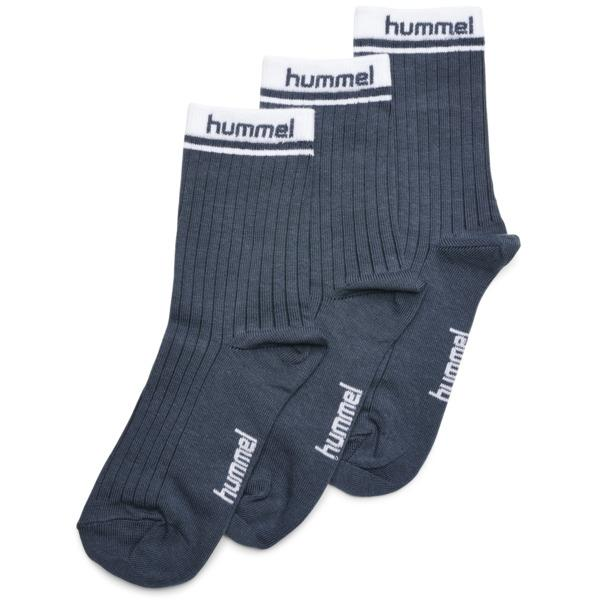 hummel CONI 3-PACK SOCK - BLUE NIGHTS - Torgunns Barneklær