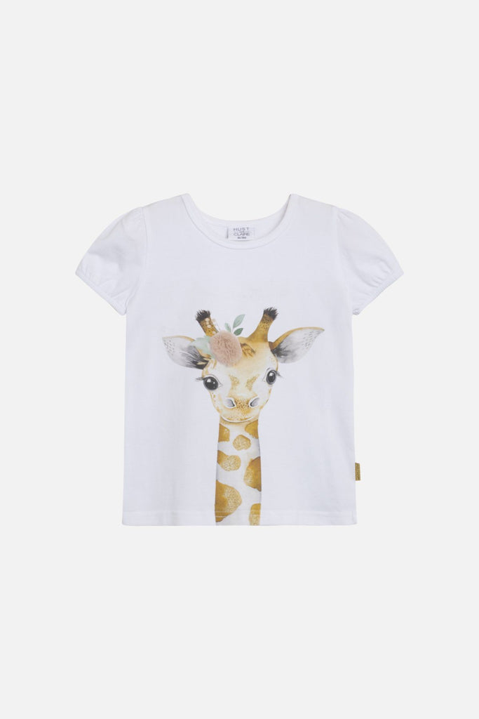 Hust & Claire ANNIELLE T-shirt - White Overdeler Hust & Claire