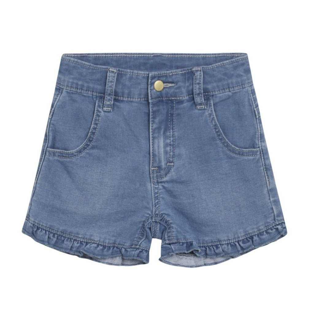 Hust & Claire JOHANNA Jeans Shorts - Washed denim Underdeler Hust & Claire