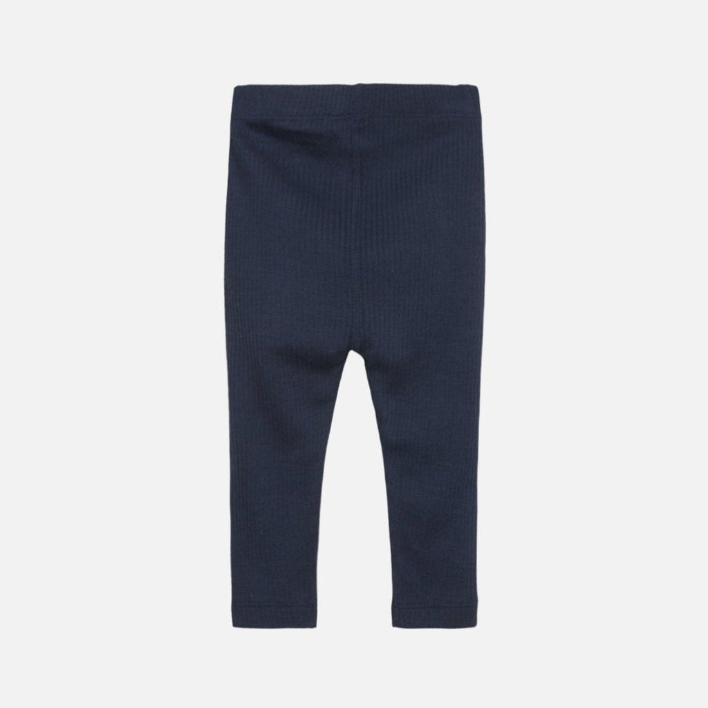 Hust & Claire ULL/BAMBUS // LEE Leggings - Blues - Torgunns Barneklær
