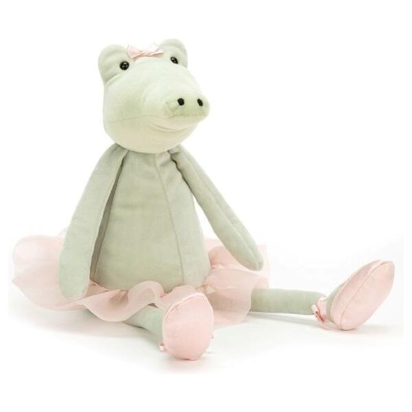 JELLYCAT - DANCING DARCY ALLIGATOR 33CM Bamse Jellycat