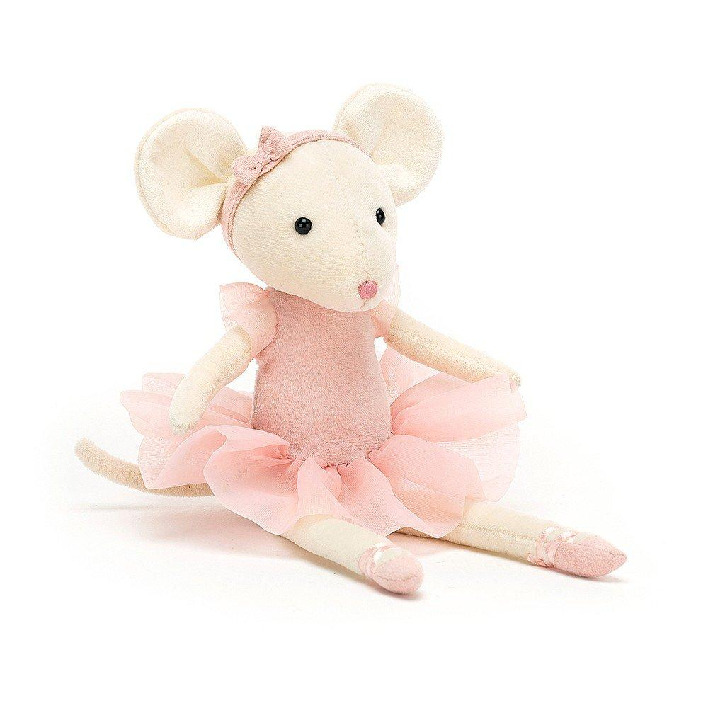 JELLYCAT - PIROUETTE MOUSE CANDY 27CM Bamse Jellycat