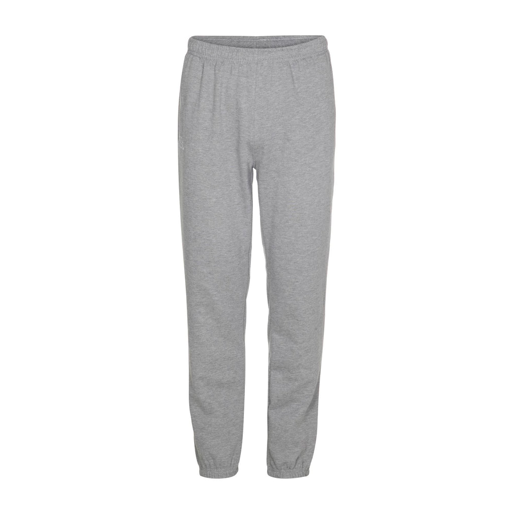 Kappa Jr Sweat Pants, Cuff Omini - MD Grey Melange Underdeler Kappa