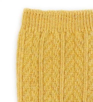 KNITTED KNEE SOCK SENNEP Sokker Torgunns Barneklær AS