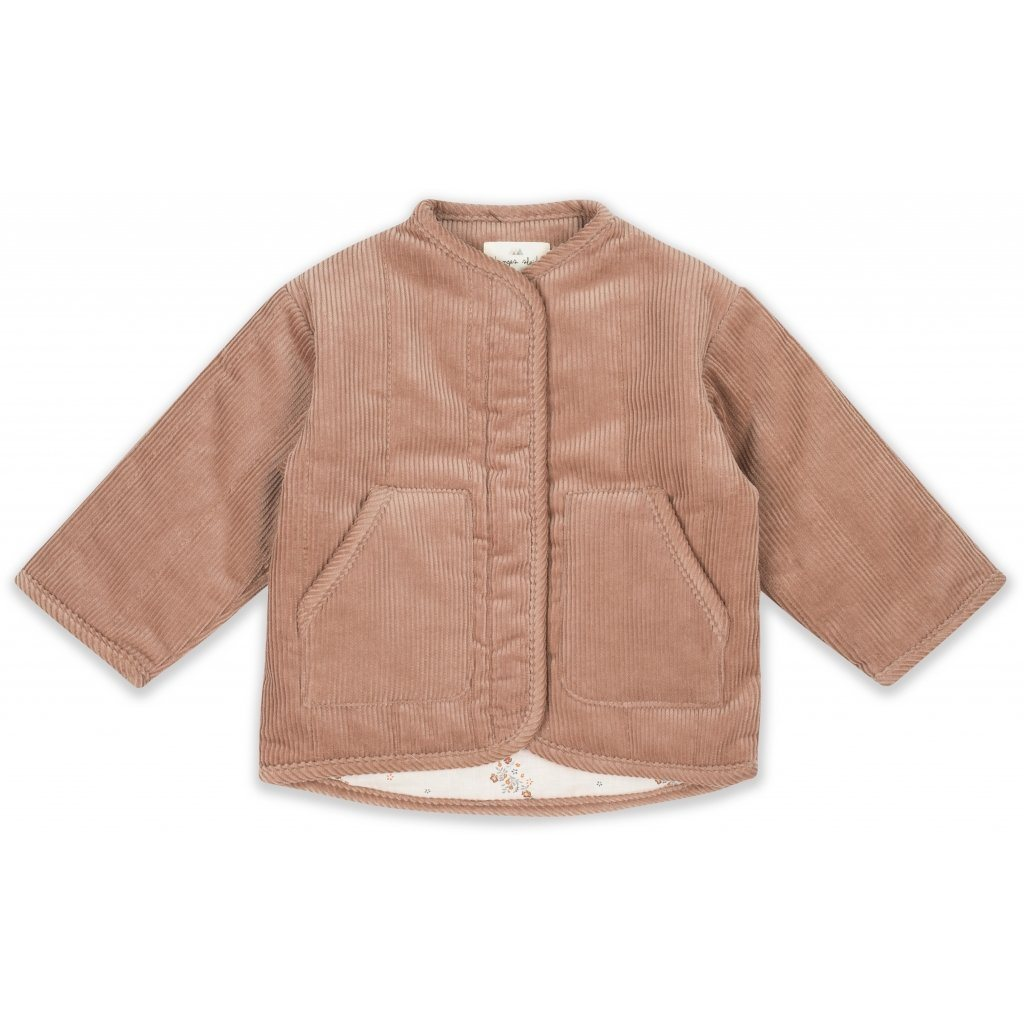 Konges Sløjd QUILTED JACKET - ROSE BLUSH - Torgunns Barneklær