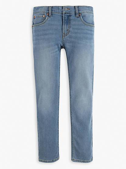 LEVIS 512 SLIM TAPER JEAN - LIGHT DENIM - Torgunns Barneklær