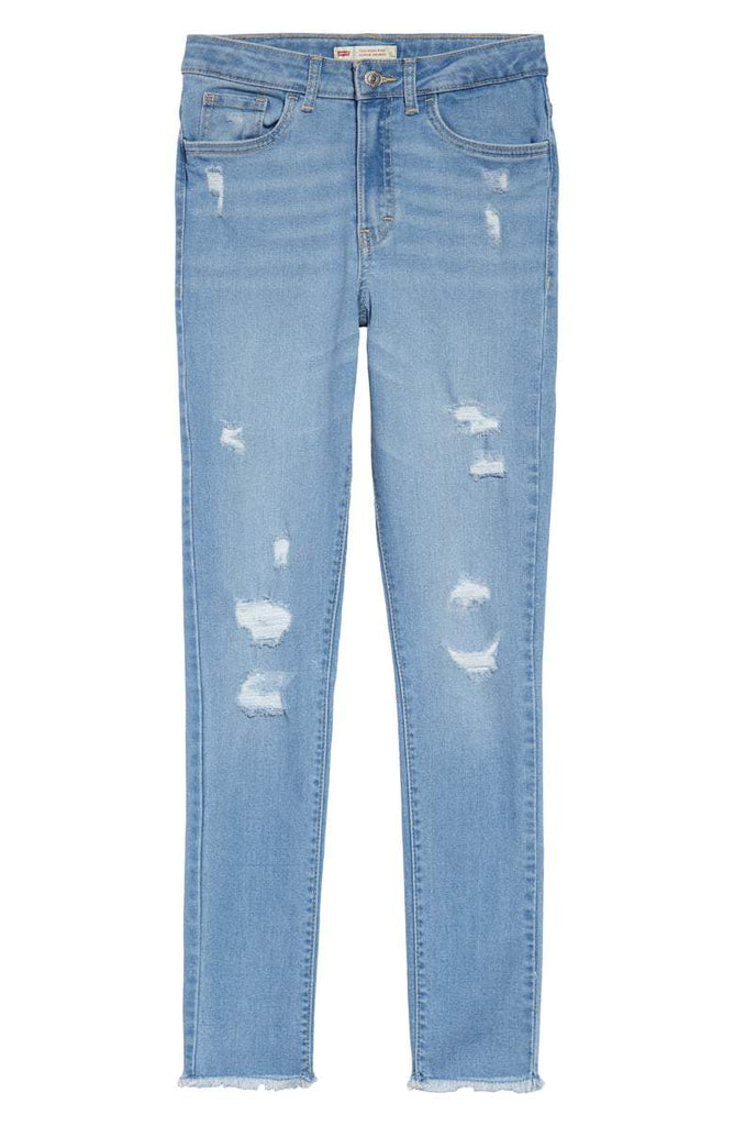 LEVIS GIRL 720 HIGH RISE SUPER SKINNY - HOMETOWN BLUE - Torgunns Barneklær