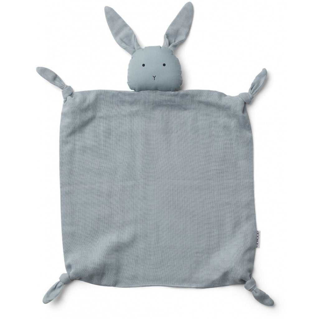 Liewood AGNETE Cuddle Cloth - Rabbit Sea Blue - Torgunns Barneklær