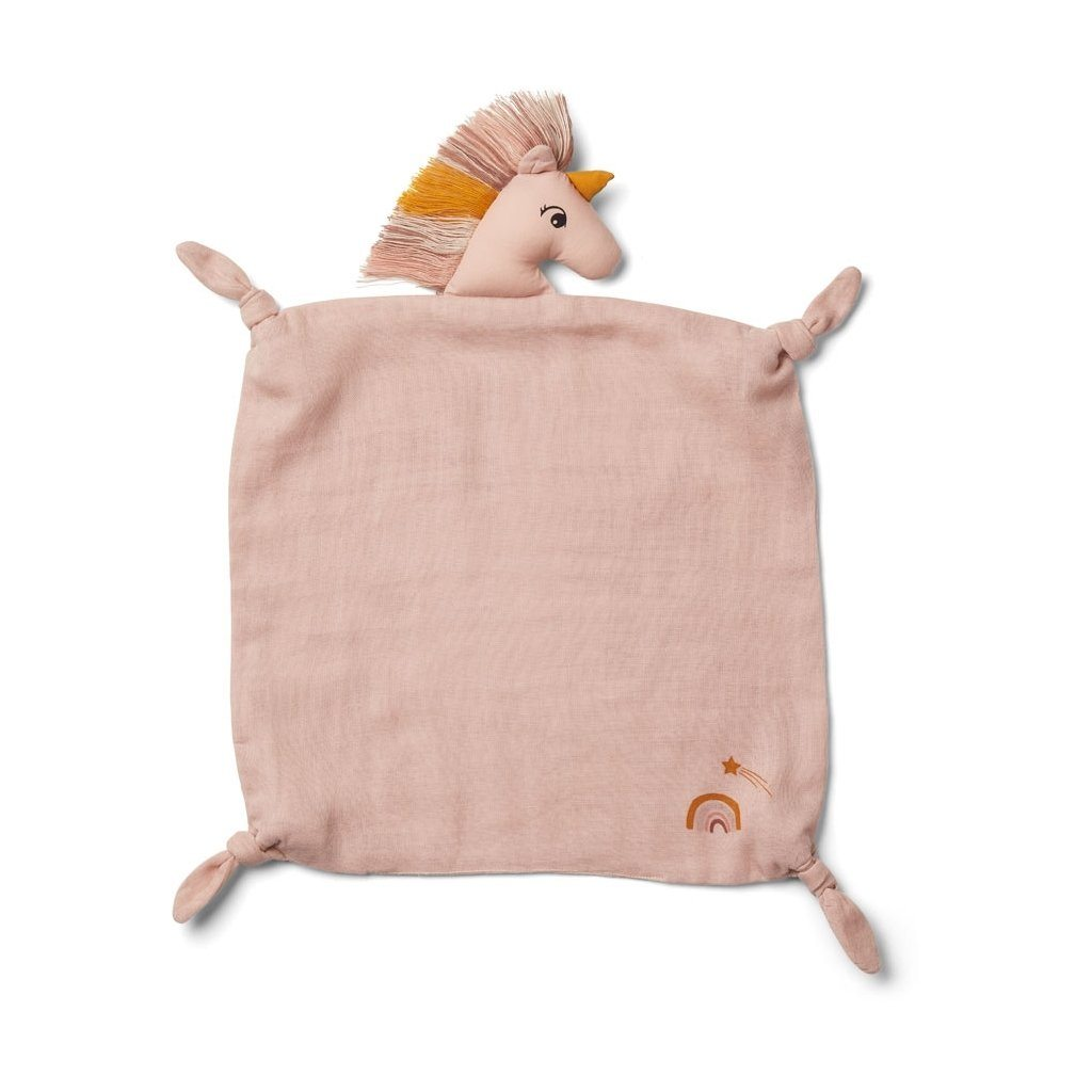 Liewood AGNETE Cuddle Cloth - Unicorn Sorbet Rose - Torgunns Barneklær