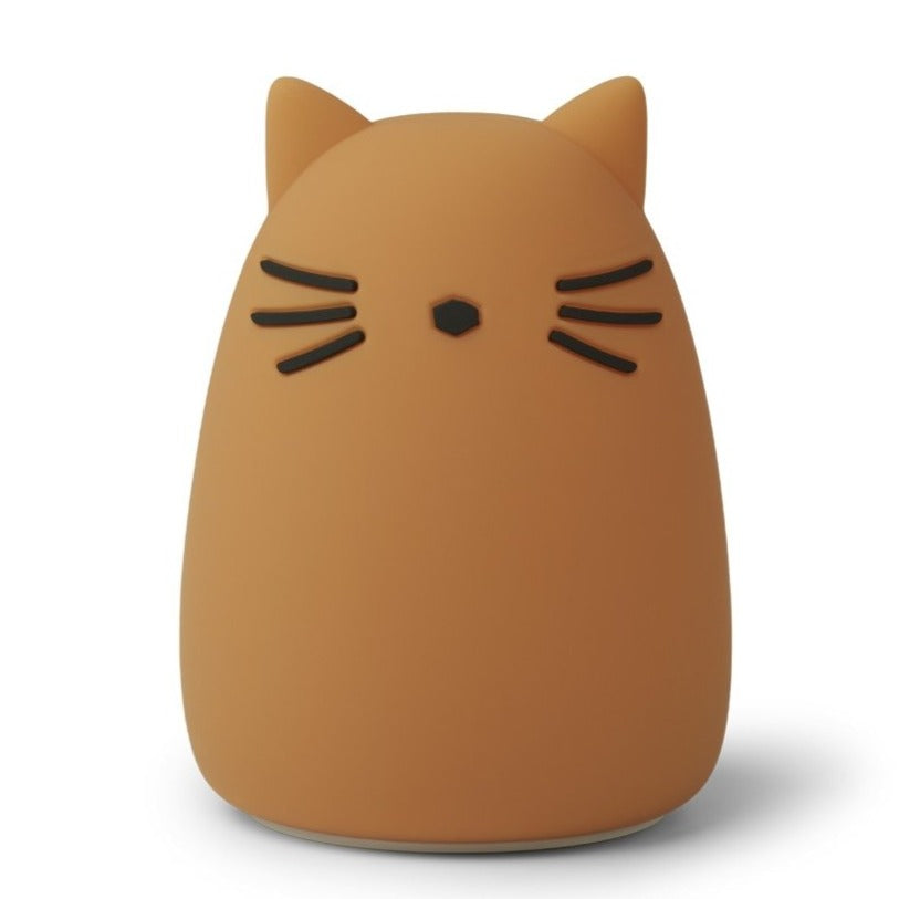 Liewood WINSTON Night Light - Cat Mustard Lamper Liewood
