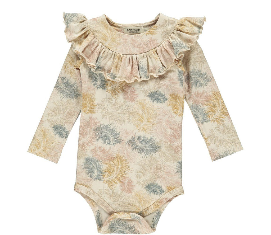 MarMar BIBBI Body Jersey Print - Feather Print Body MarMar