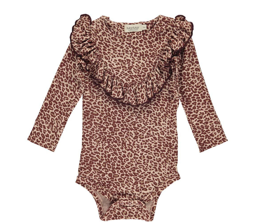 MarMar BILLIE Body Leopard - Wine Leo Body MarMar