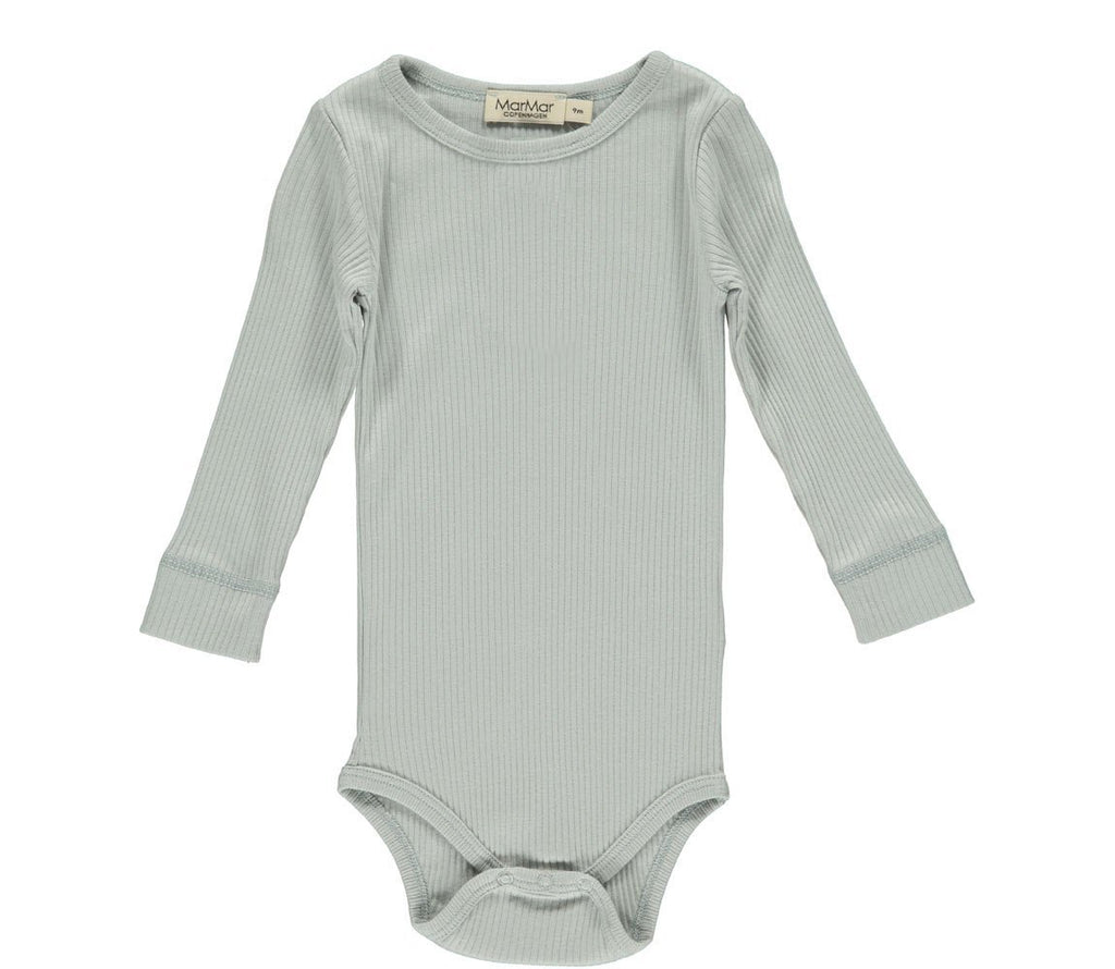 MarMar PLAIN Body LS Modal - Grey Sky Body MarMar