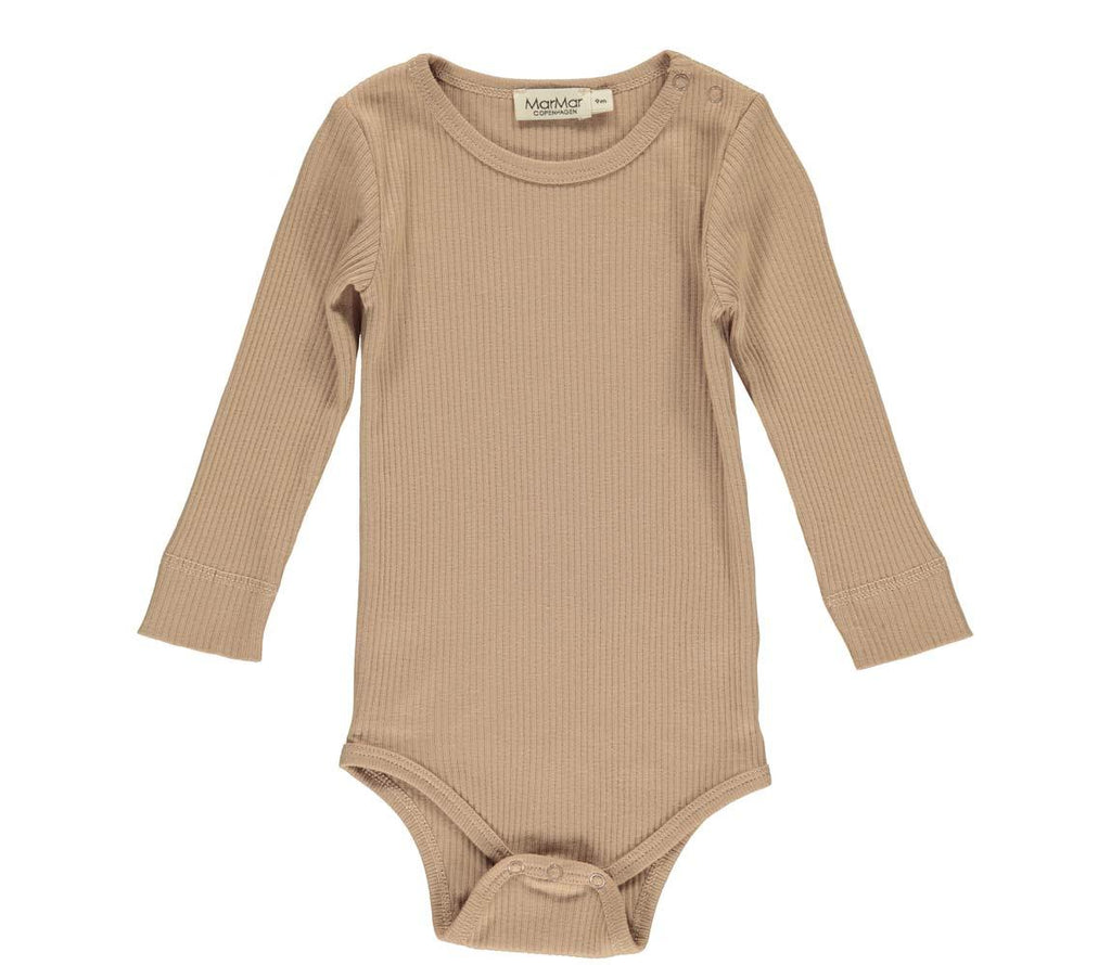 MarMar PLAIN Body LS Modal - Rose Brown Body MarMar