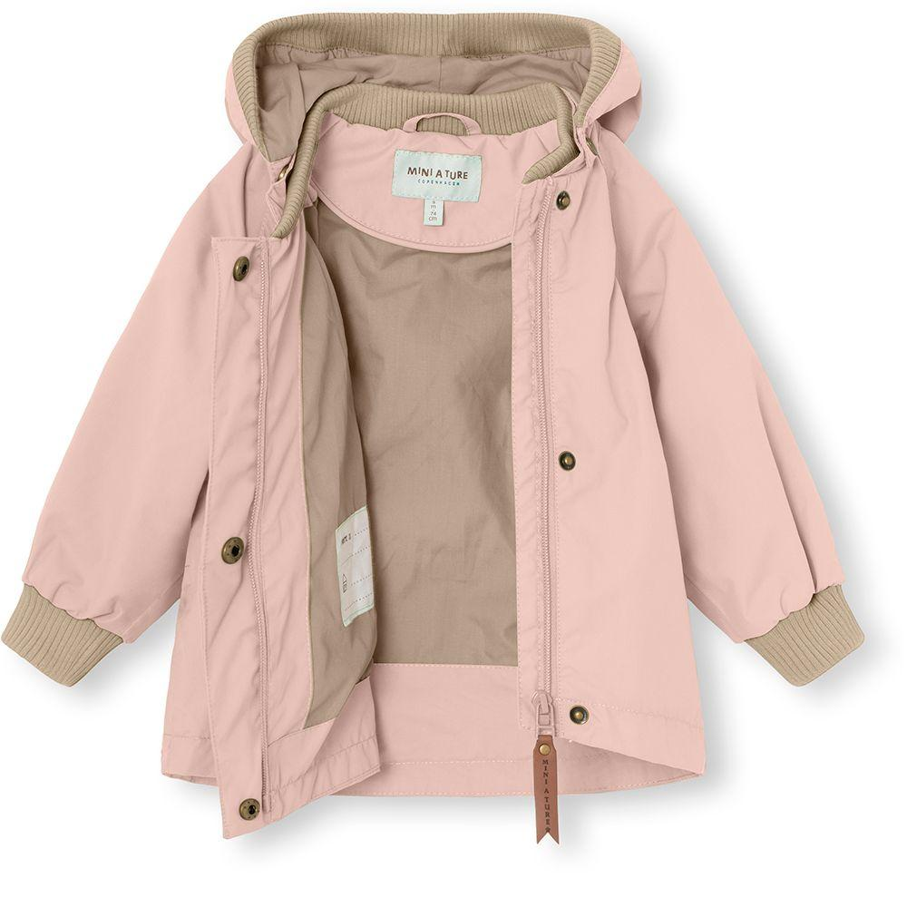 Mini A Ture WAI Fleece Jacket, M - Cloudy Rose - Torgunns Barneklær