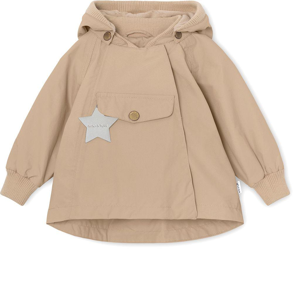 Mini A Ture WAI Fleece Jacket, M - Doeskind Sand - Torgunns Barneklær